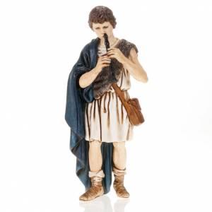 Crèche Moranduzzo: Joueur de flute crèche Landi  13 cm
