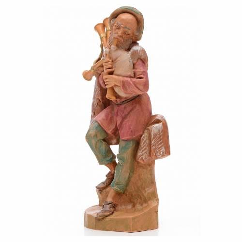 Joueur de musette crèche 17 cm Fontanini s2