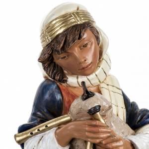 Joueur de musette crèche Fontanini 45 cm s2