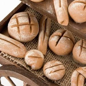 Neapolitanische Krippe: Karre mit Brot für Krippe