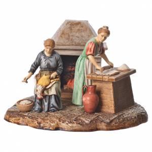 Nativity Scene by Moranduzzo: Kitchen nativity figurines 10cm Moranduzzo