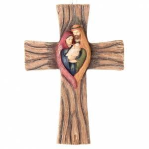 Figuren, Kreuze, Bildchen: Kreuz Heilige Familie