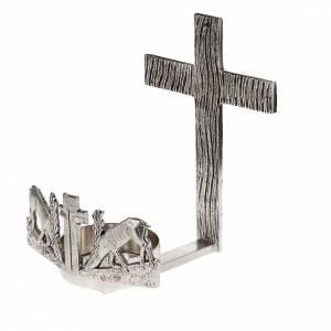 Lampade per il Santissimo: Lampada per Santissimo da muro cervi alla fonte