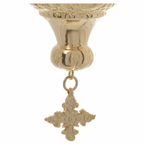 Lampada per Santissimo Ortodossa cm 19x9 s5