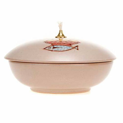 Lampada ciotola ceramica s4