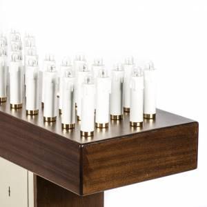 Ambones, reclinatorios, mobiliario religioso: Lampadario electrónico madera de nogal
