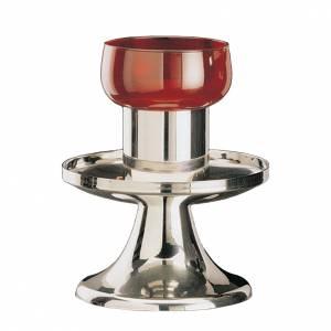 Lampe de sanctuaire Molina en acier inoxydable s1