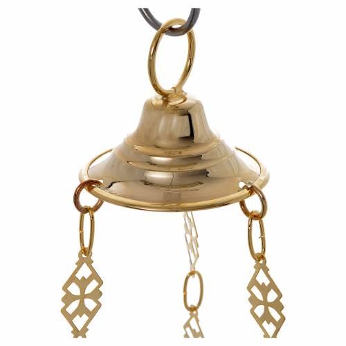 Lampe de Très-Saint-Sacrement orthodoxe 19x9 cm s7