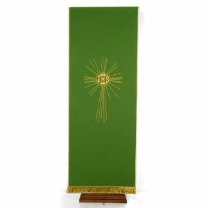Lectern Cover, embroidered IHS and halo of rays s7