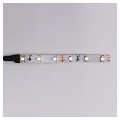 LED strip with 6 lights 0,8x8cm, yellow for Frisalight s1