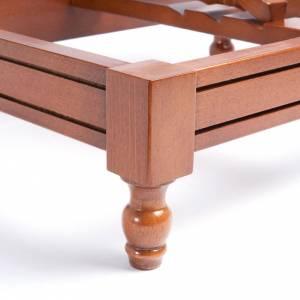 Leggio legno con scanalature s3