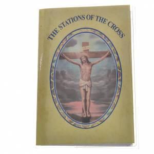 Calendari e altri libri religiosi: Libretto con rosario The Station of The Cross INGLESE