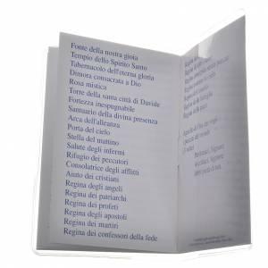 Librito Santo Rosario 6,5 x 9,5 cm Maria que desata los nudos s4