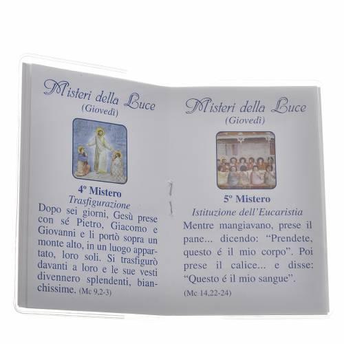 Livre Saint Rosaire Saint Jean-Paul II 6,5x9,5cm IT s3