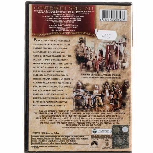 Los Diez Mandamientos DVD s2