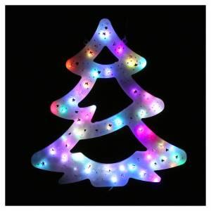 Luce Albero Natale 50 led colorati interno esterno s2