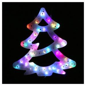 Luz Árbol Navidad 50 led coloreados interior exterior s2