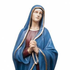Madonna Addolorata 100 cm marmo sintetico colorato s2