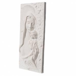 Articoli funerari: Madonna con bimbo cm 30 rilievo