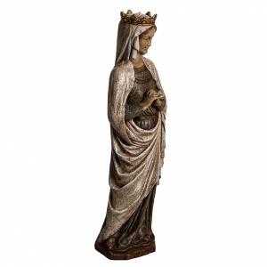 Madonna dell'Annunciazione 48 cm pietra dei Pirenei s2