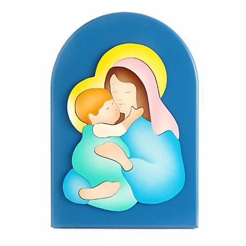 Madre Teresa de Calcuta con rosario s1