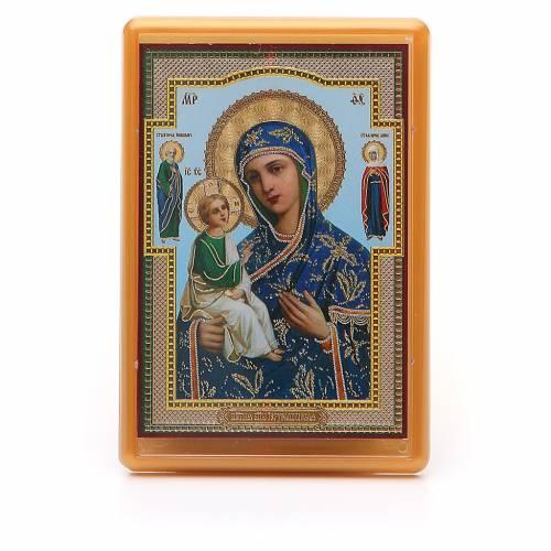 Magnet plexiglass russian Jerusalemskaya 10x7cm s1