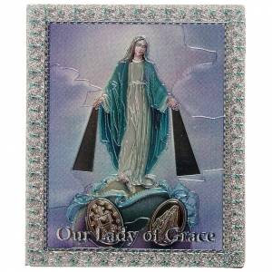 Magnets religieux: Magnet Vierge Miraculeuse anglais