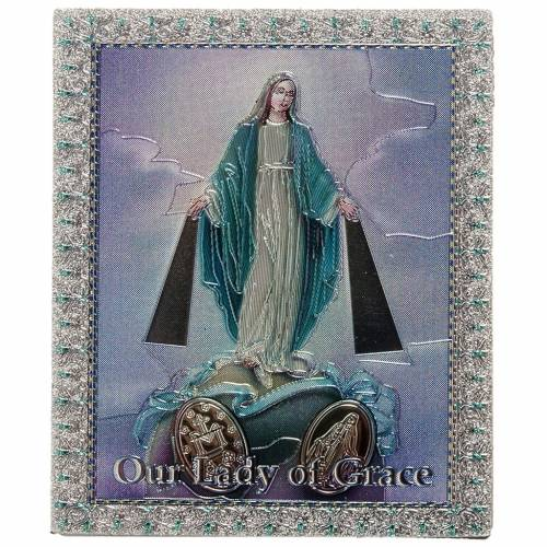 Magnet Vierge Miraculeuse anglais s1