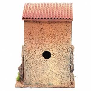 Maison avec escalier crèche 25x18x14 cm pour 6 cm s4