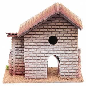 Maison double crèche 20x23x14 cm pour 6 cm s4