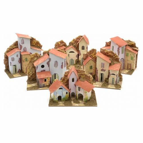 Maison en miniature pour crèche cm 15x10 s1