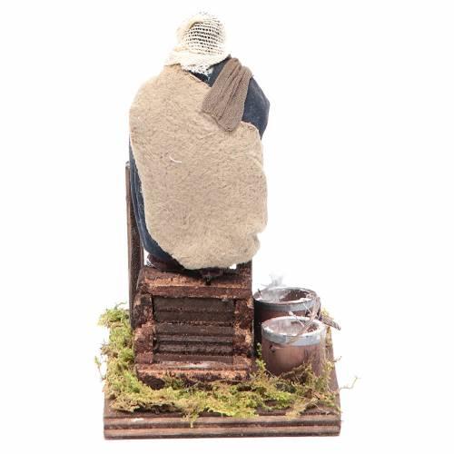 Mantequero con herramienta 10 cm belén Napolitano s4
