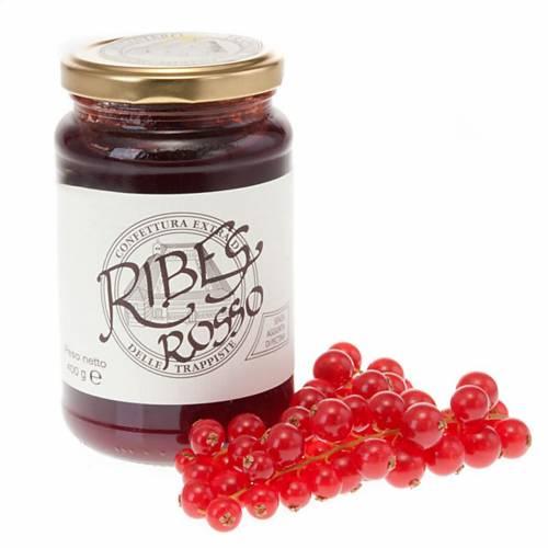 Confettura Extra Ribes Rosso 400 gr Trappiste Vitorchiano s1