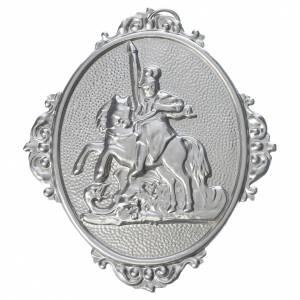 Medaglioni per confraternite: Medaglione confraternita San Giorgio ottone