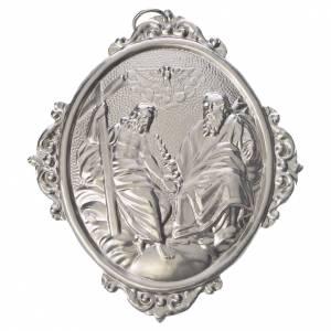 Medaglioni per confraternite: Medaglione confraternite SS. Trinità ottone