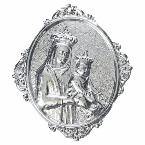 Medaglione per confraternita Madonna e bambin Gesù s1