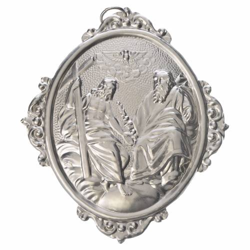 Médaille confrérie Très-Saint-Sacrement laiton s1