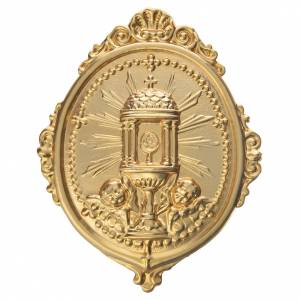 Medalla cofradía Ostensorio Ambrosiano metal s1