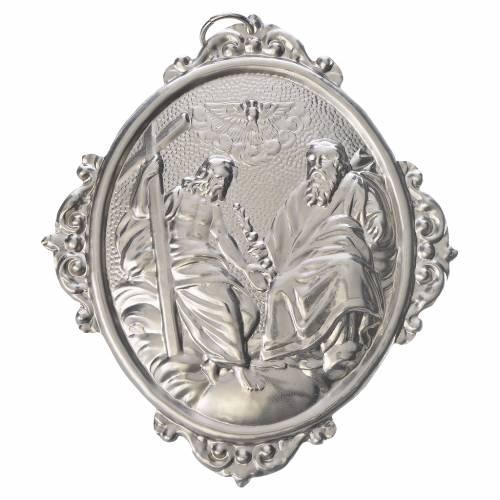 Medalla cofradía SS. Trinidad metal s1