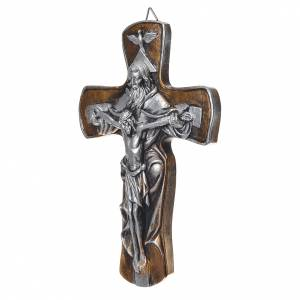 Crosses and magnets: Medjugorje Cross in resin with gold finish