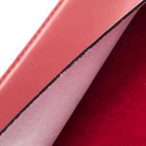 Deckel für Messbücher: Messbucheinband echte Leder Platte Silber
