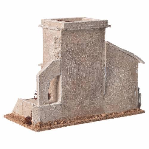 Minaret double crèche 13x20x10 cm s4