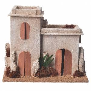 Casas, ambientaciones y tiendas: Minarete árabe para belén 17x15x12 cm