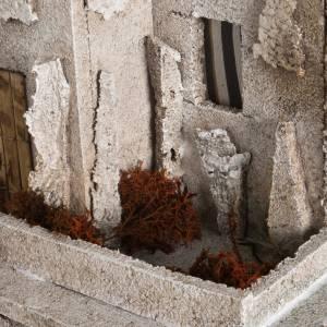 Ambientazioni, botteghe, case, pozzi: Minareto con scala illuminato: ambientazione presepe
