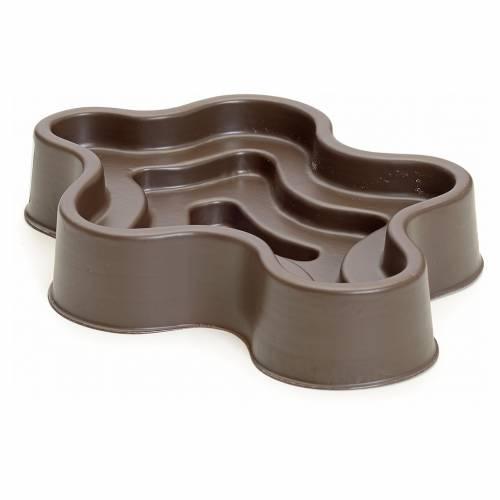 Mini lac marron en plastique pour crèche s2