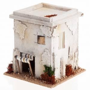 Mini maison arabe simple pour crèche Noel s1