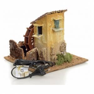 Mini moulin à eau électrique 19x20x20 cm s3