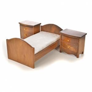 Miniatures mobilier chambre à coucher 6 pcs s8