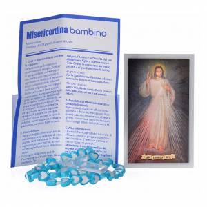 Rosaires de dévotion: Misericordina pour enfant, chapelet Pape François ITA