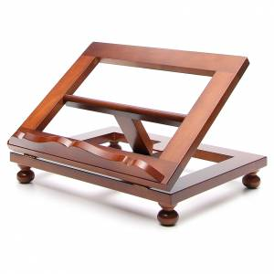 Book stands: Missal stand in walnut wood, big size